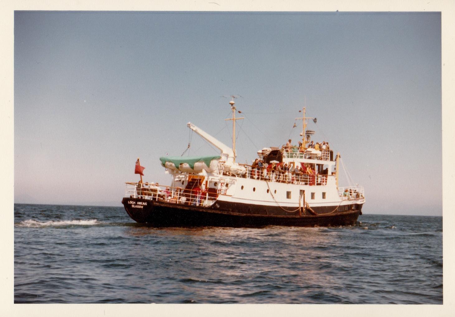 Loch Arkaig awaiting flitboat (Jim AIkman Smith)