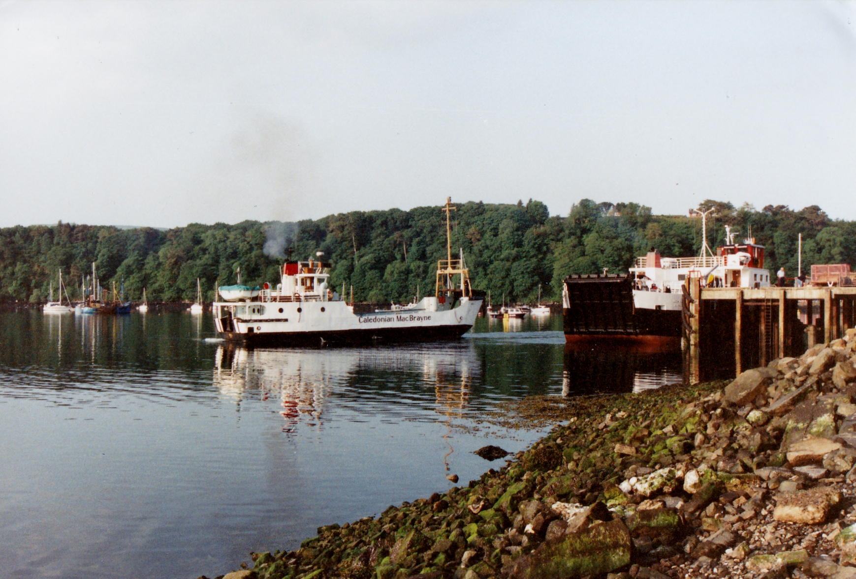 Loch Buie and Coll at Tobermory (Jim Aikman Smith)