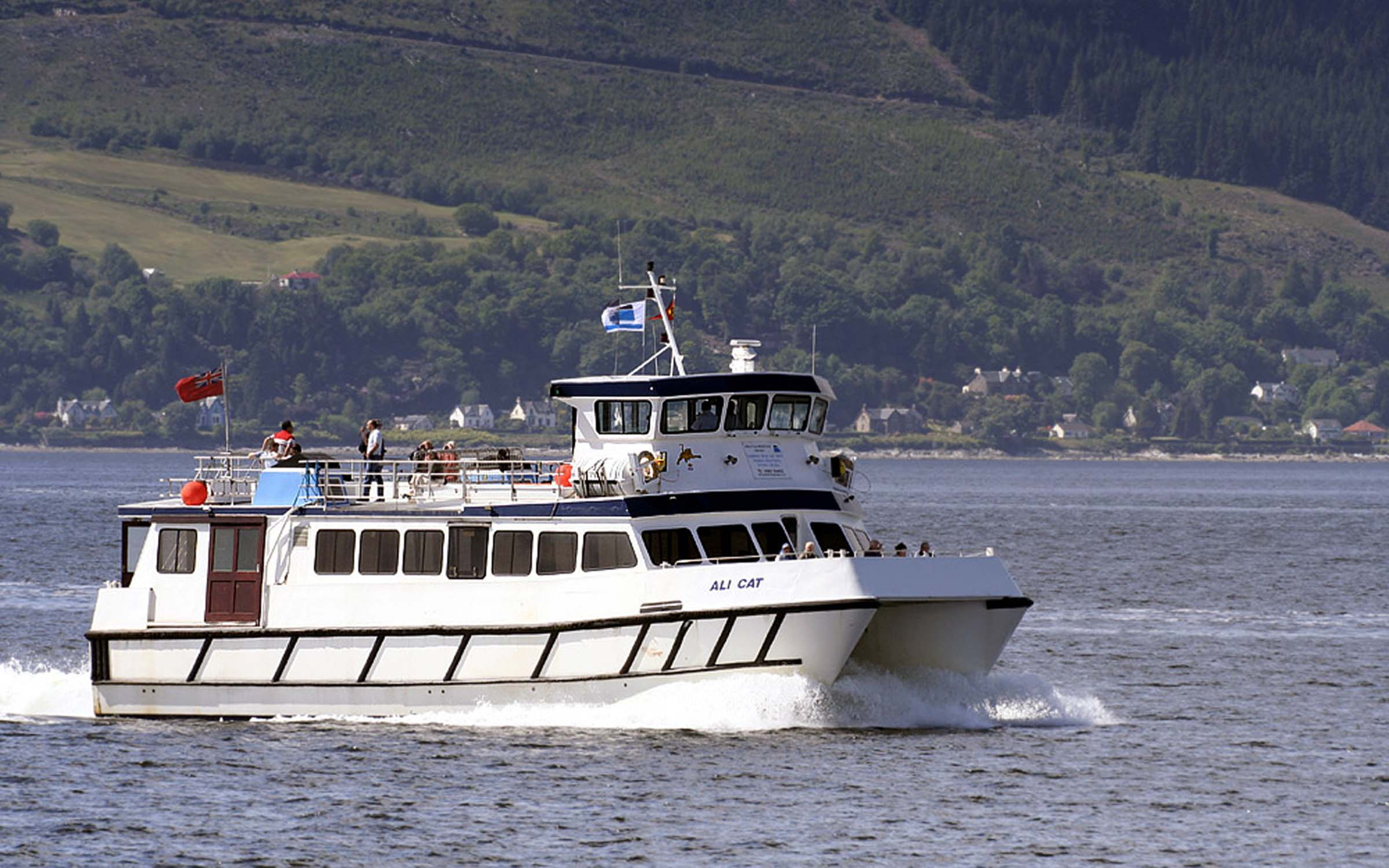 Ali Cat when on charter to Caledonian Macbrayne