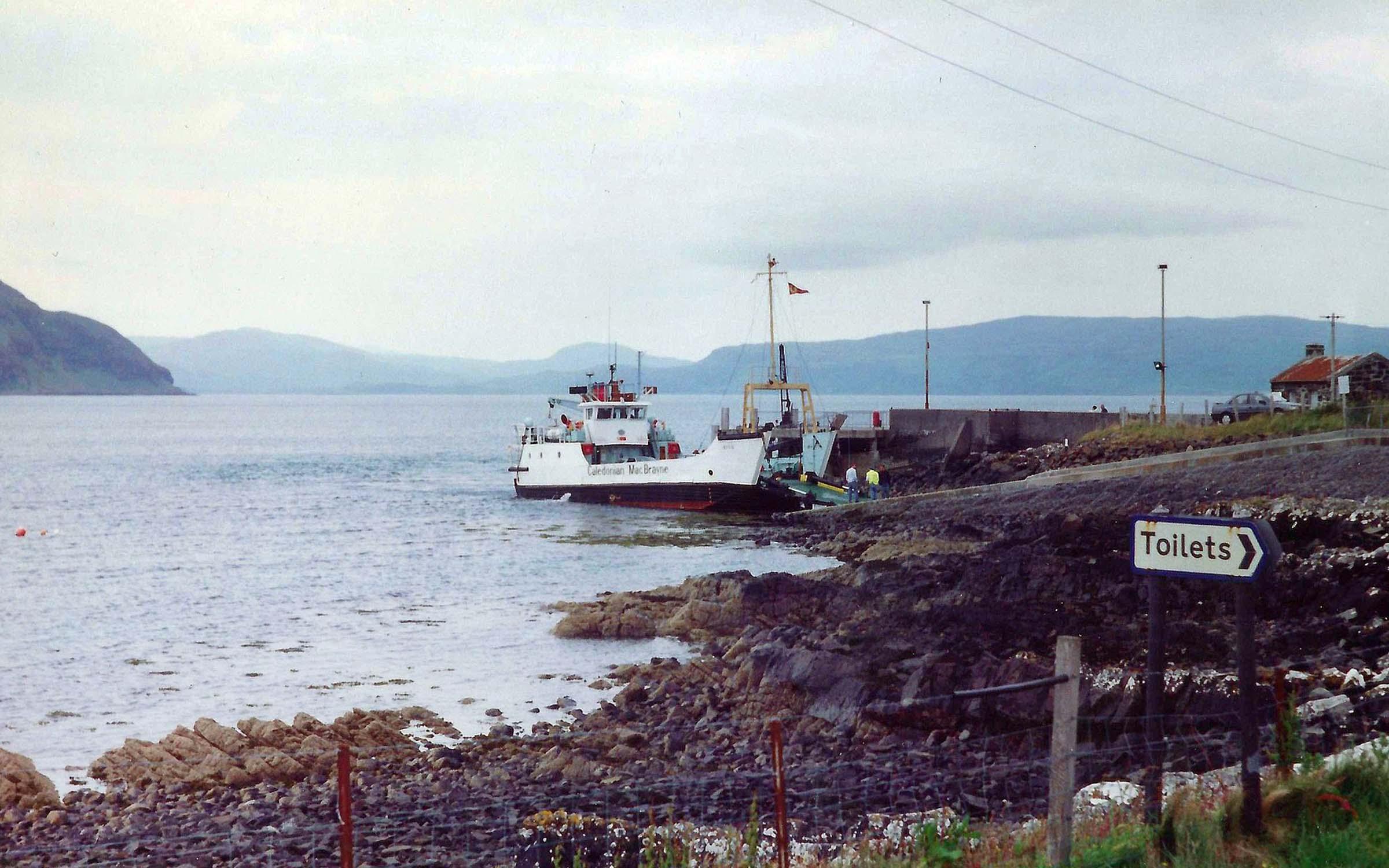 Eigg at Kilchoan (Iain McPherson)