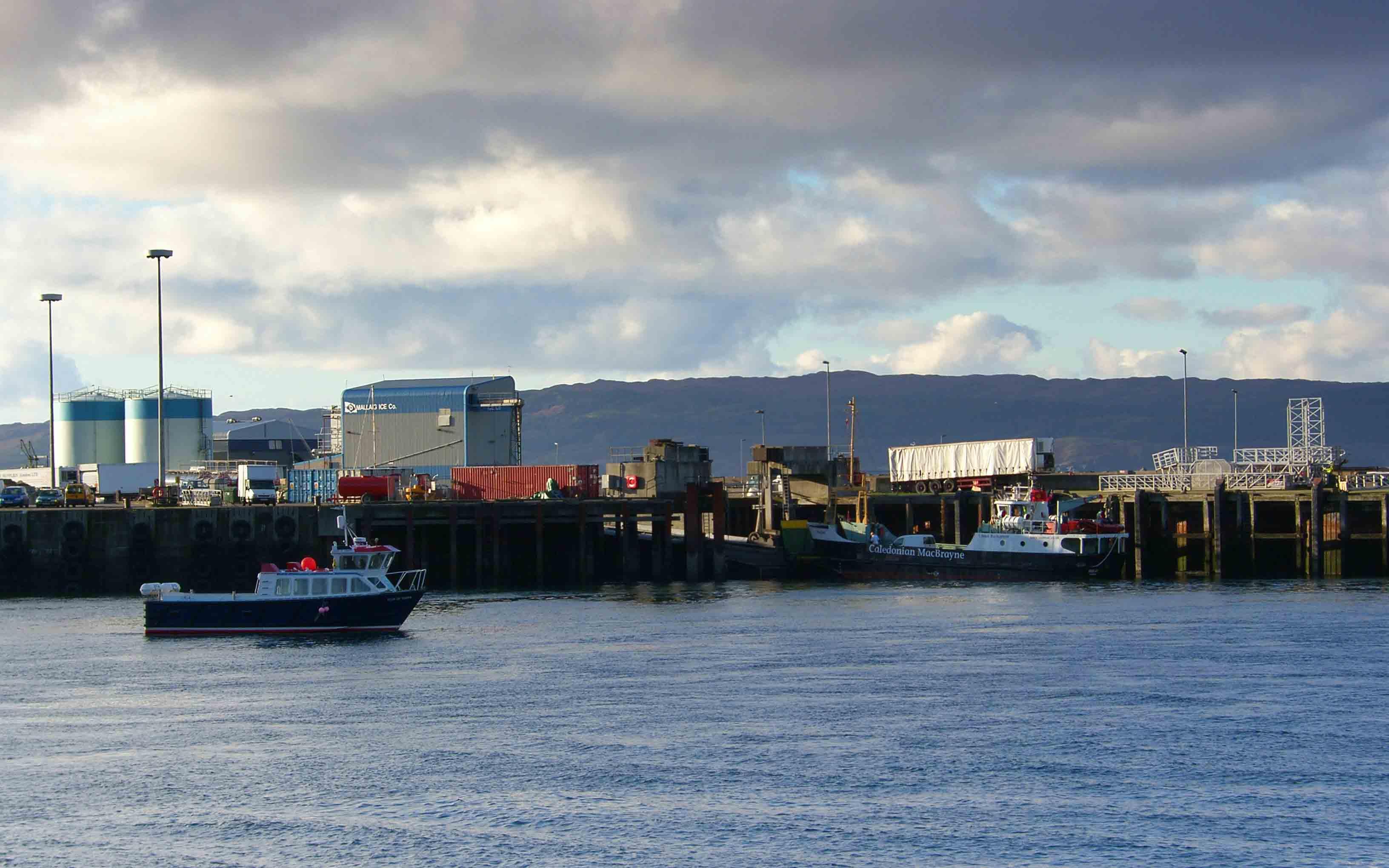 Ullin of Staffa and Raasay at Mallaig (Ships of CalMac)