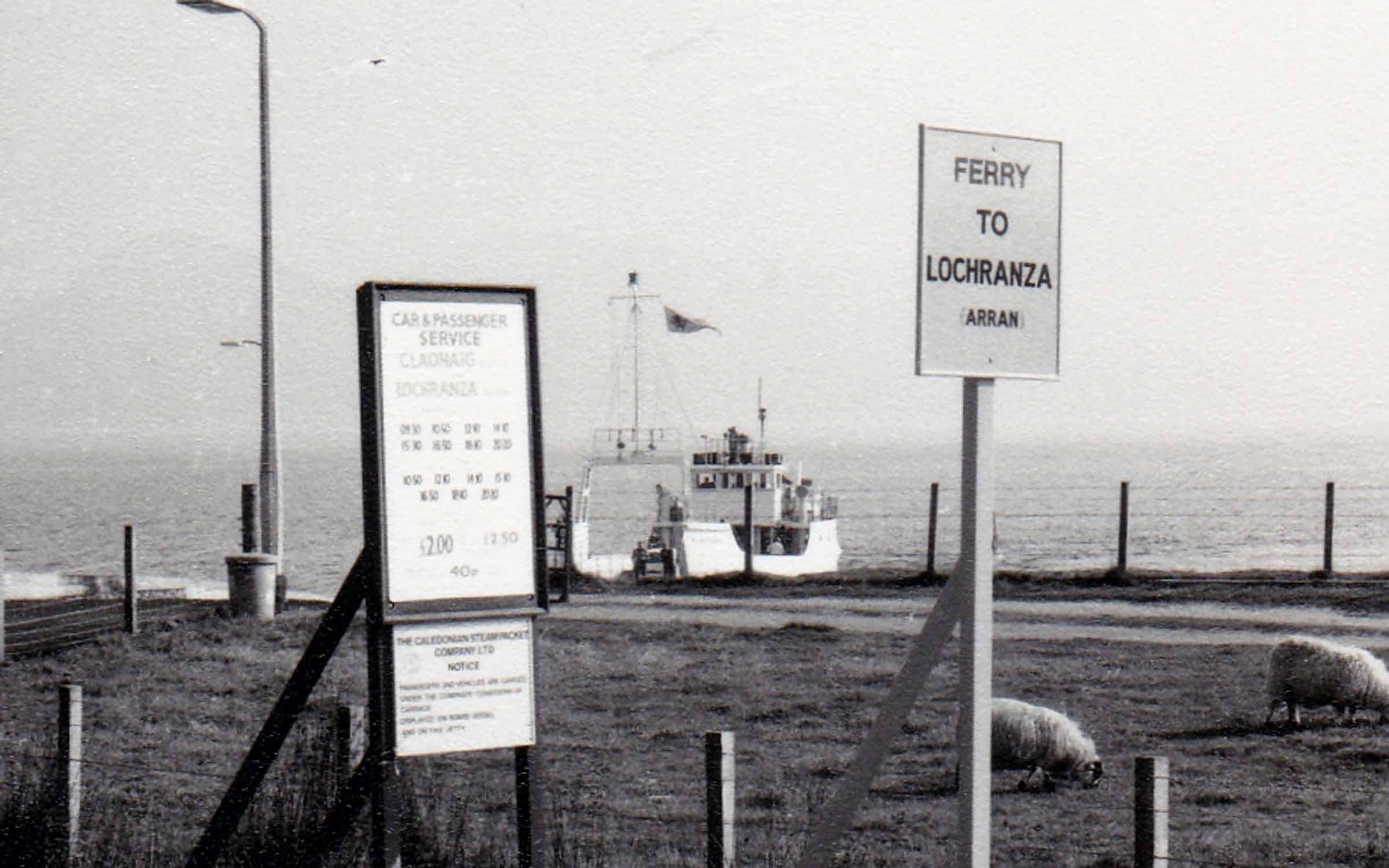 Kilbrannan at Claonaig (Jim Aikman Smith)