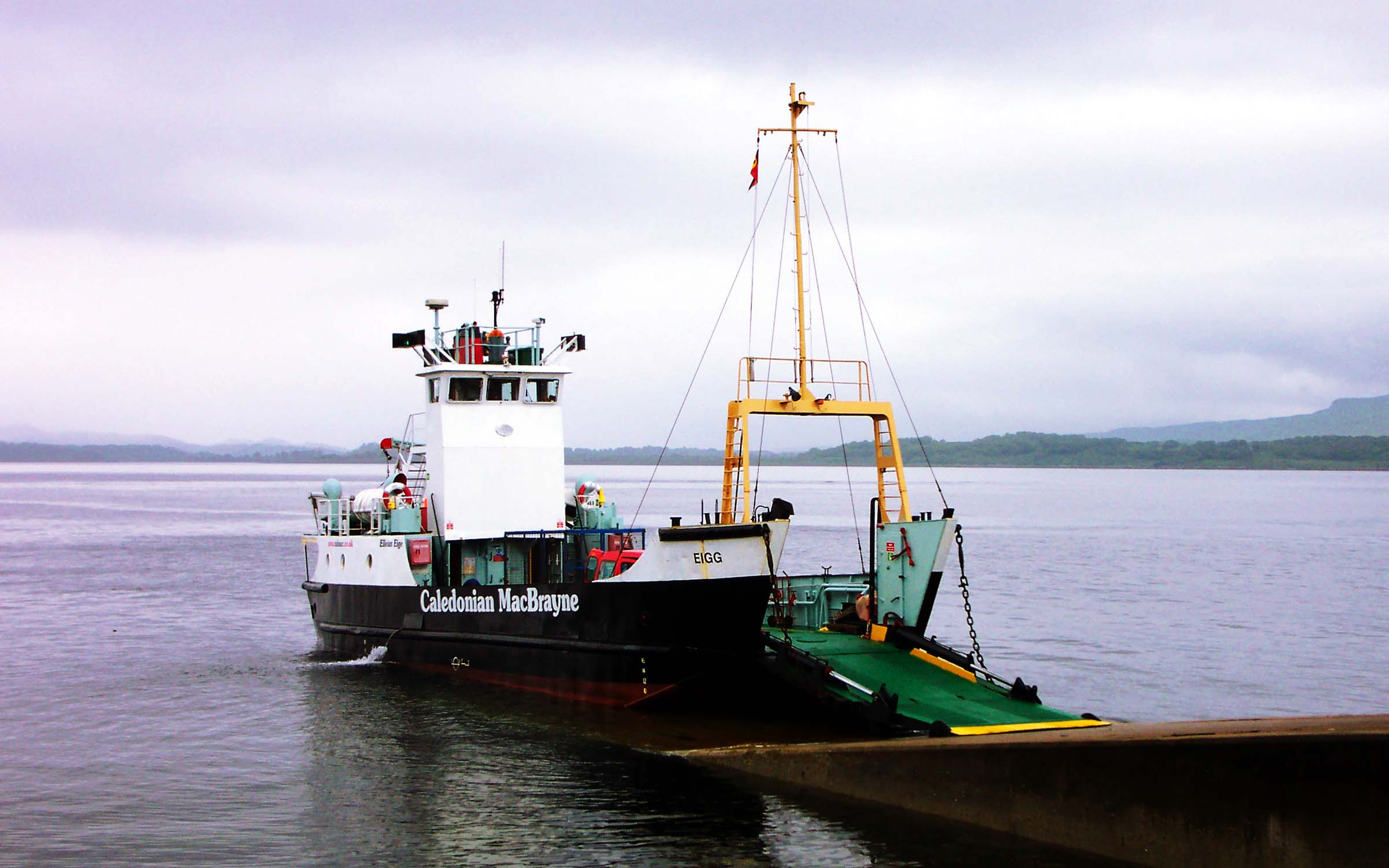 Eigg at Lismore (Ships of CalMac)
