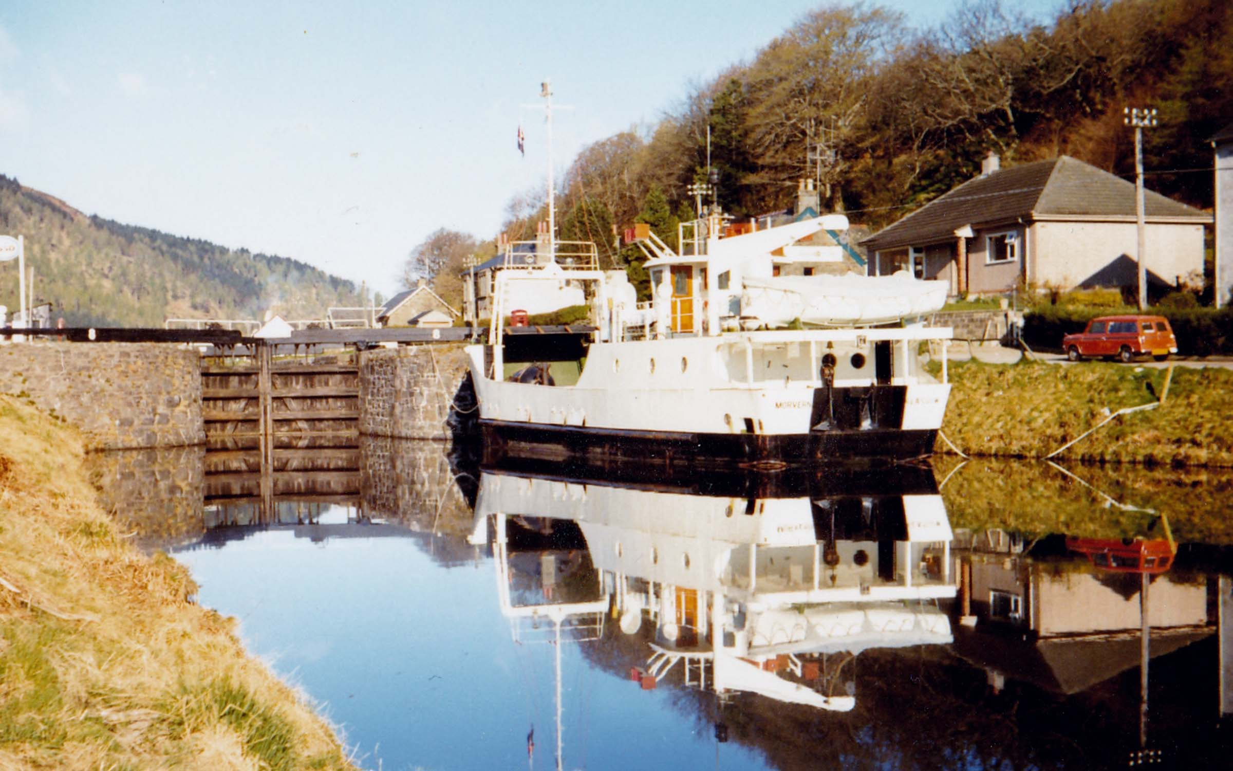 Morvern in the Crinan Canal (Jim Aikman Smith)