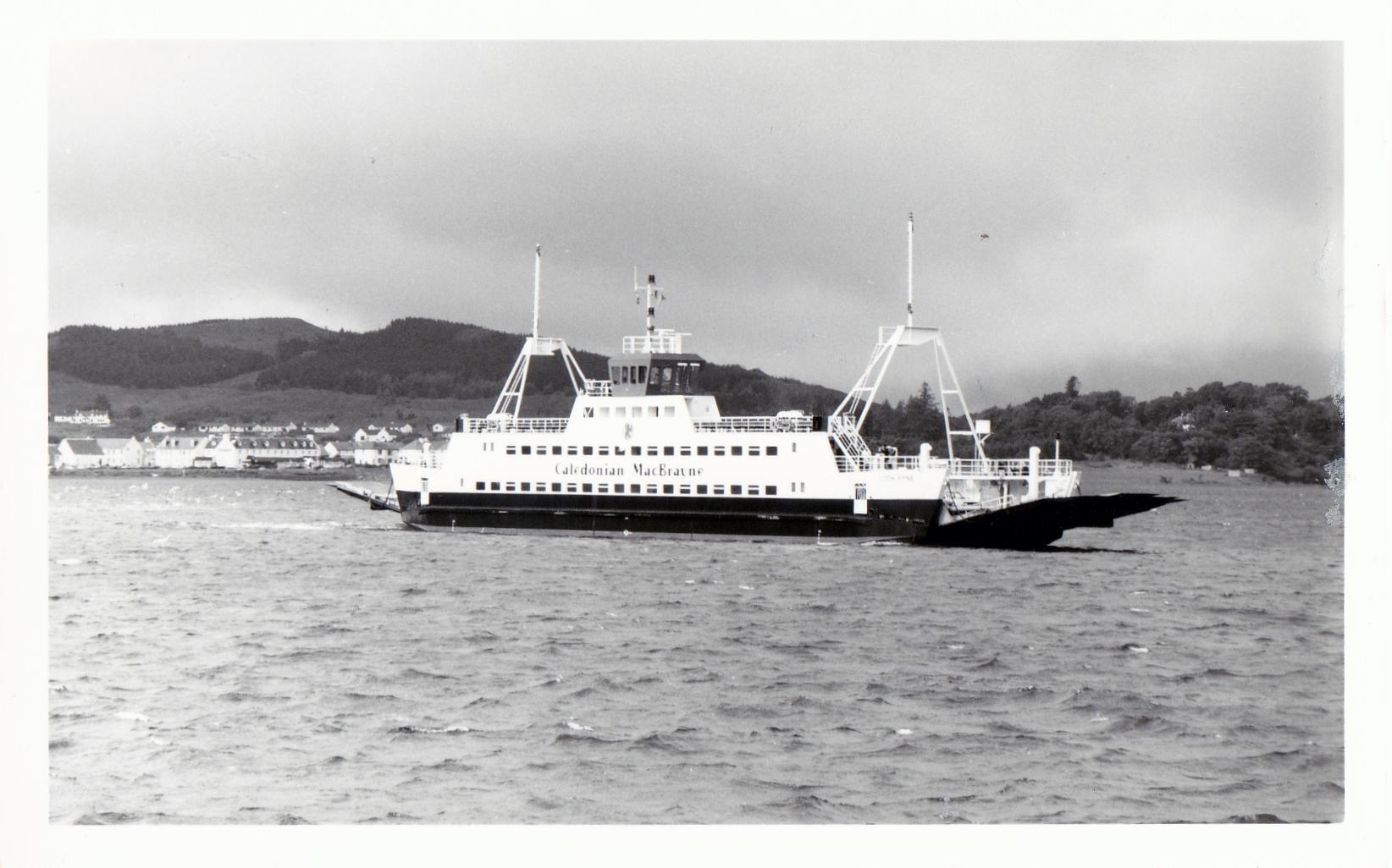 Loch Fyne arriving at Kyle of Lochalsh (Jim Aikman Smith)