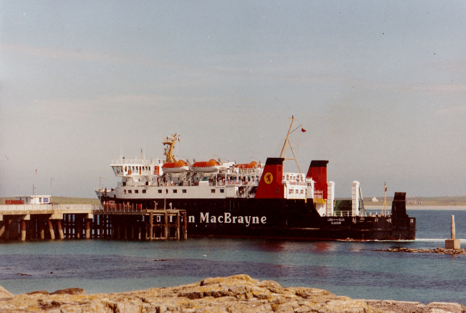 Lord of the Isles arriving at Scarinish, Tiree (Jim Aikman Smith)