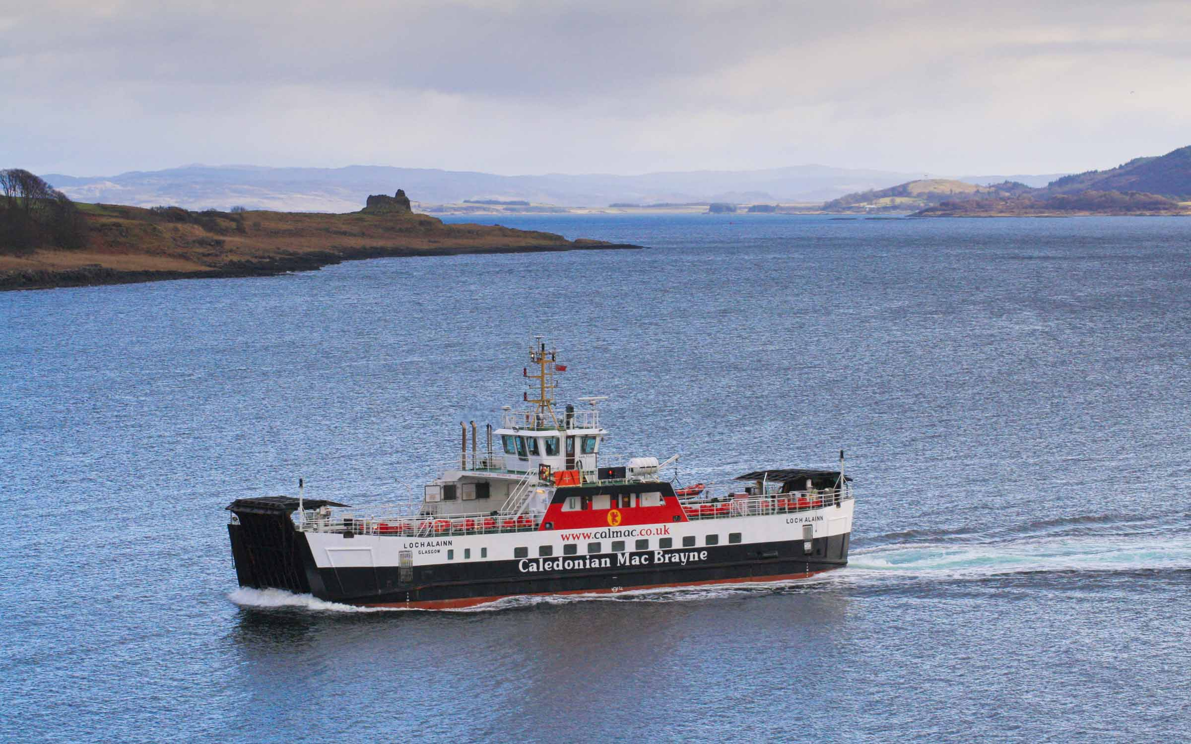 Loch Alainn in the Sound of Mull (Ships of CalMac)