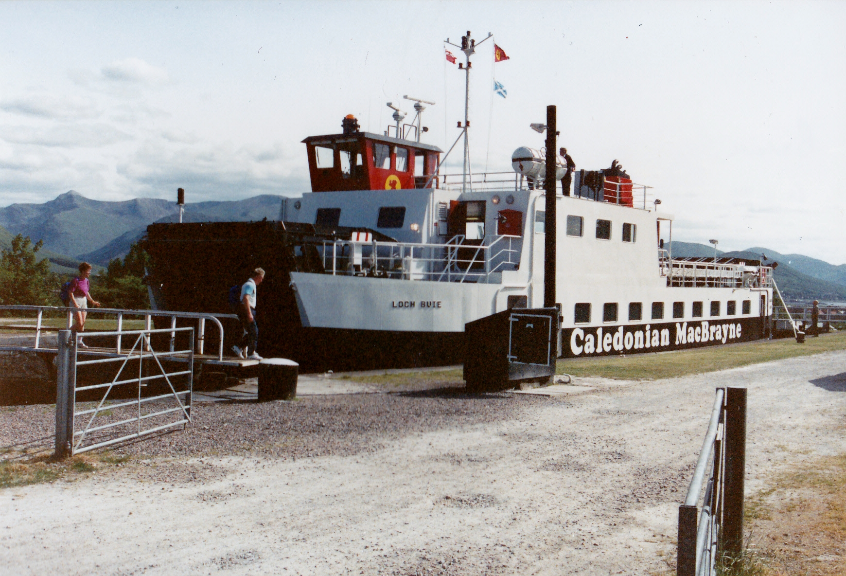 Loch Buie at Banavie on her delivery voyage (Jim Aikman Smith)