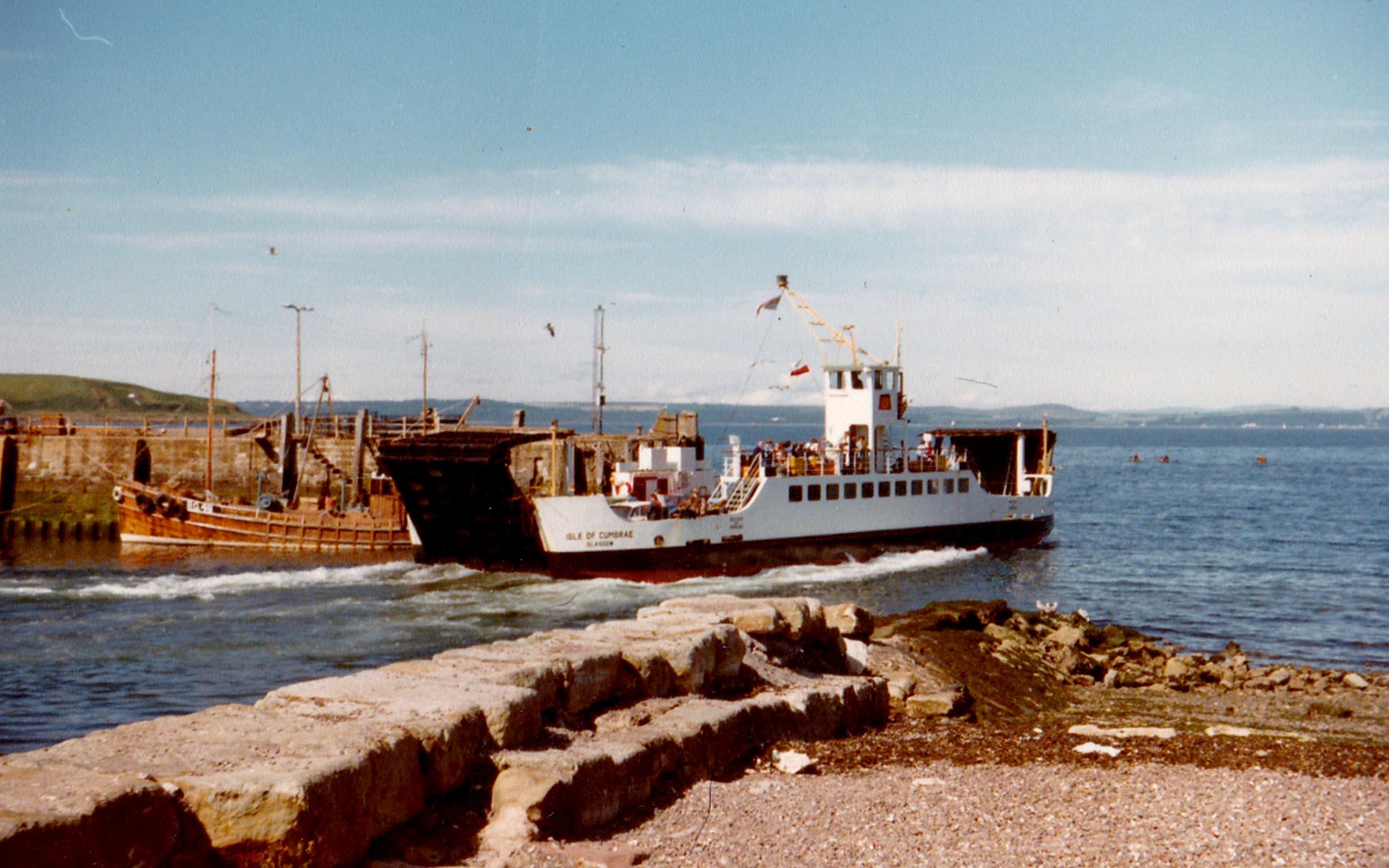 Isle of Cumbrae leaving Largs (Jim Aikman Smith)
