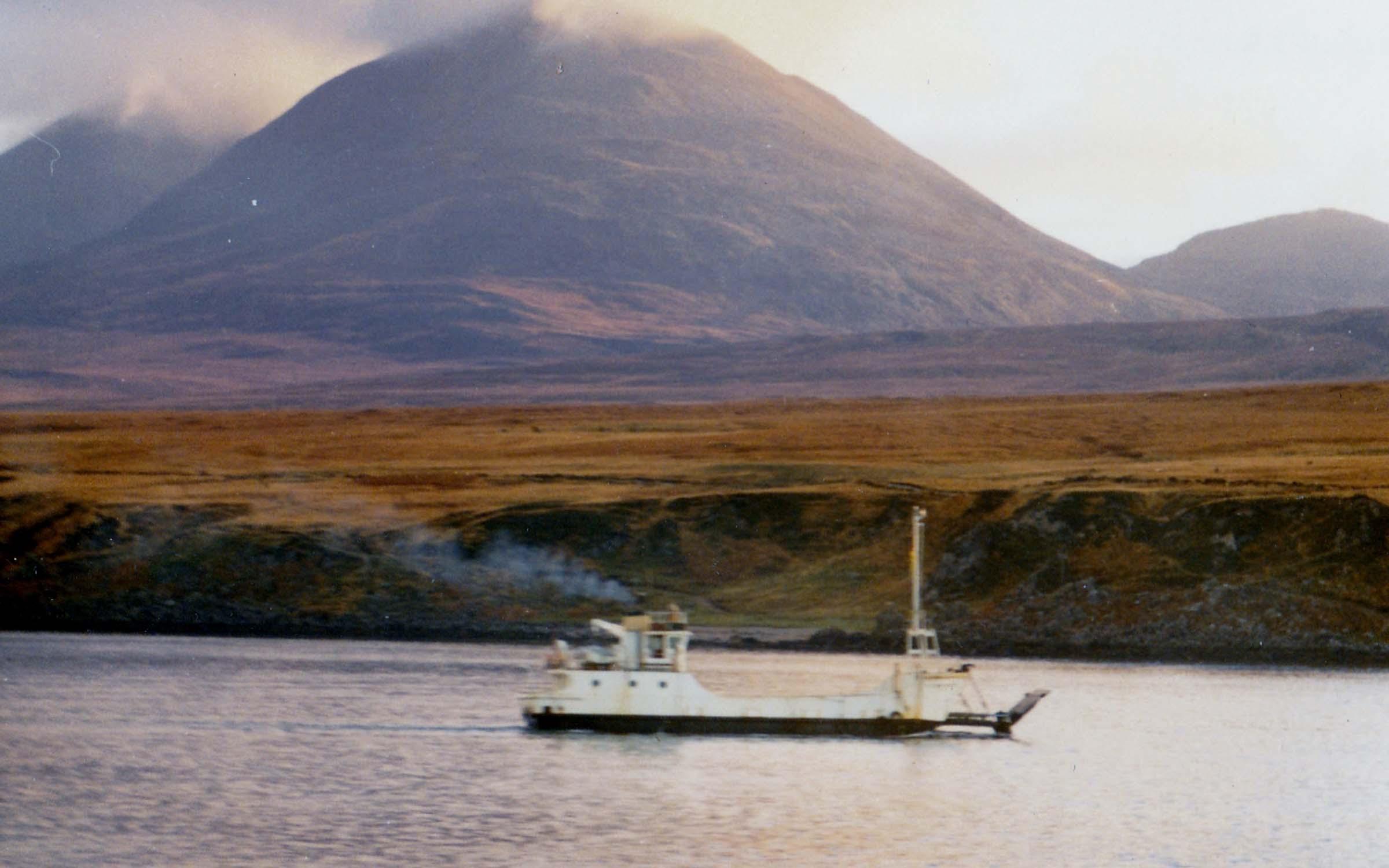 Kilbrannan in the Sound of Islay (Jim Aikman Smith)
