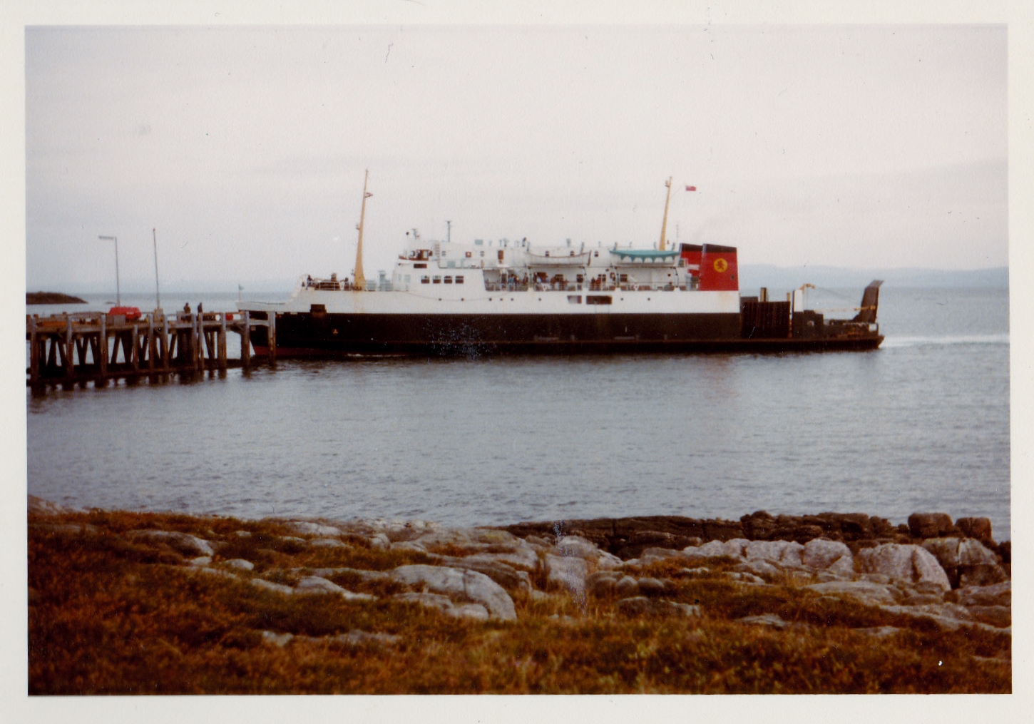 Iona arriving at Coll (Jim Aikman Smith)