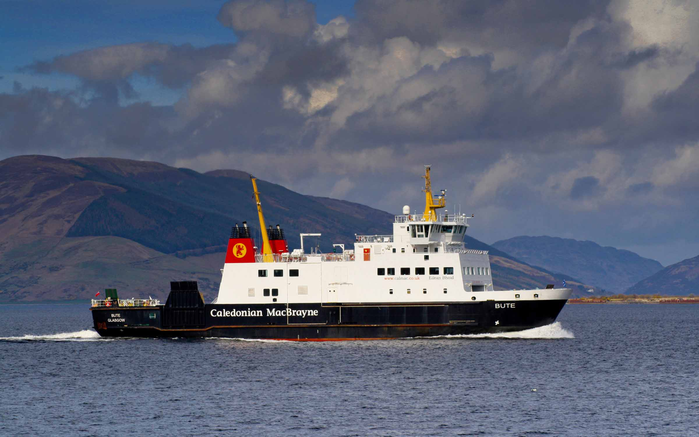 Bute passing Craigmore (Ships of CalMac)