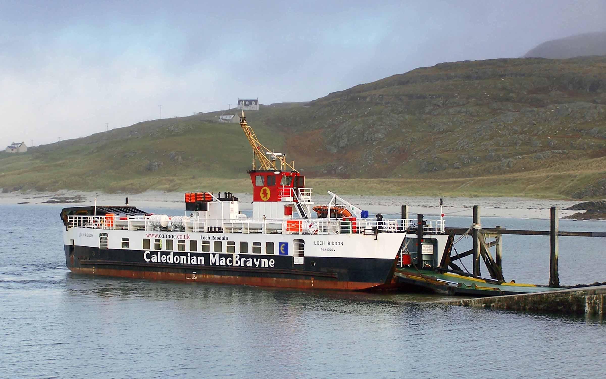 Loch Riddon at Eriskay (Ships of CalMac)