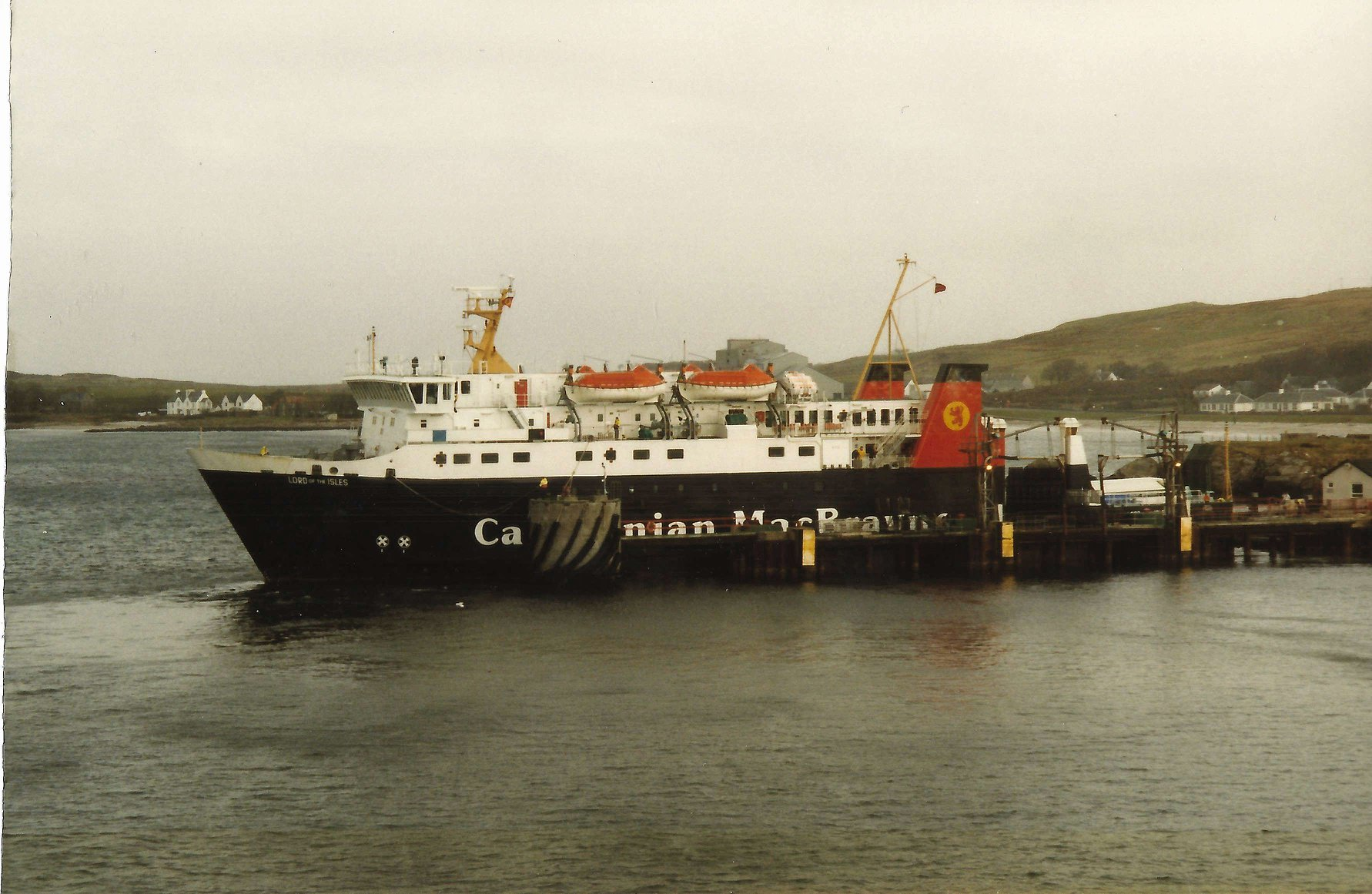 Lord of the Isles at Port Ellen (Iain McPherson)