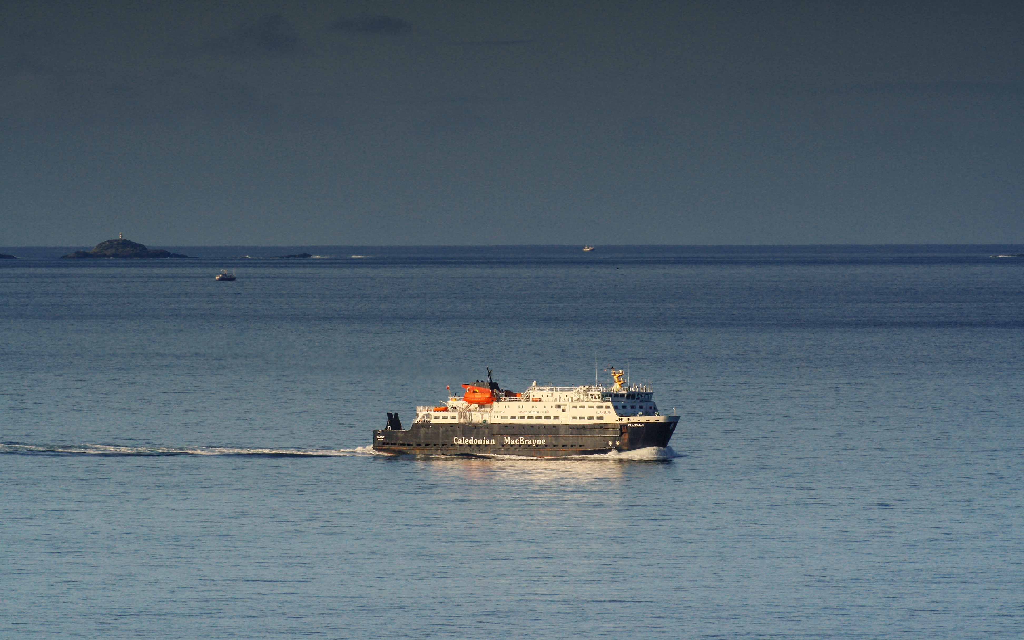 Clansman inbound from Coll (Ships of CalMac)