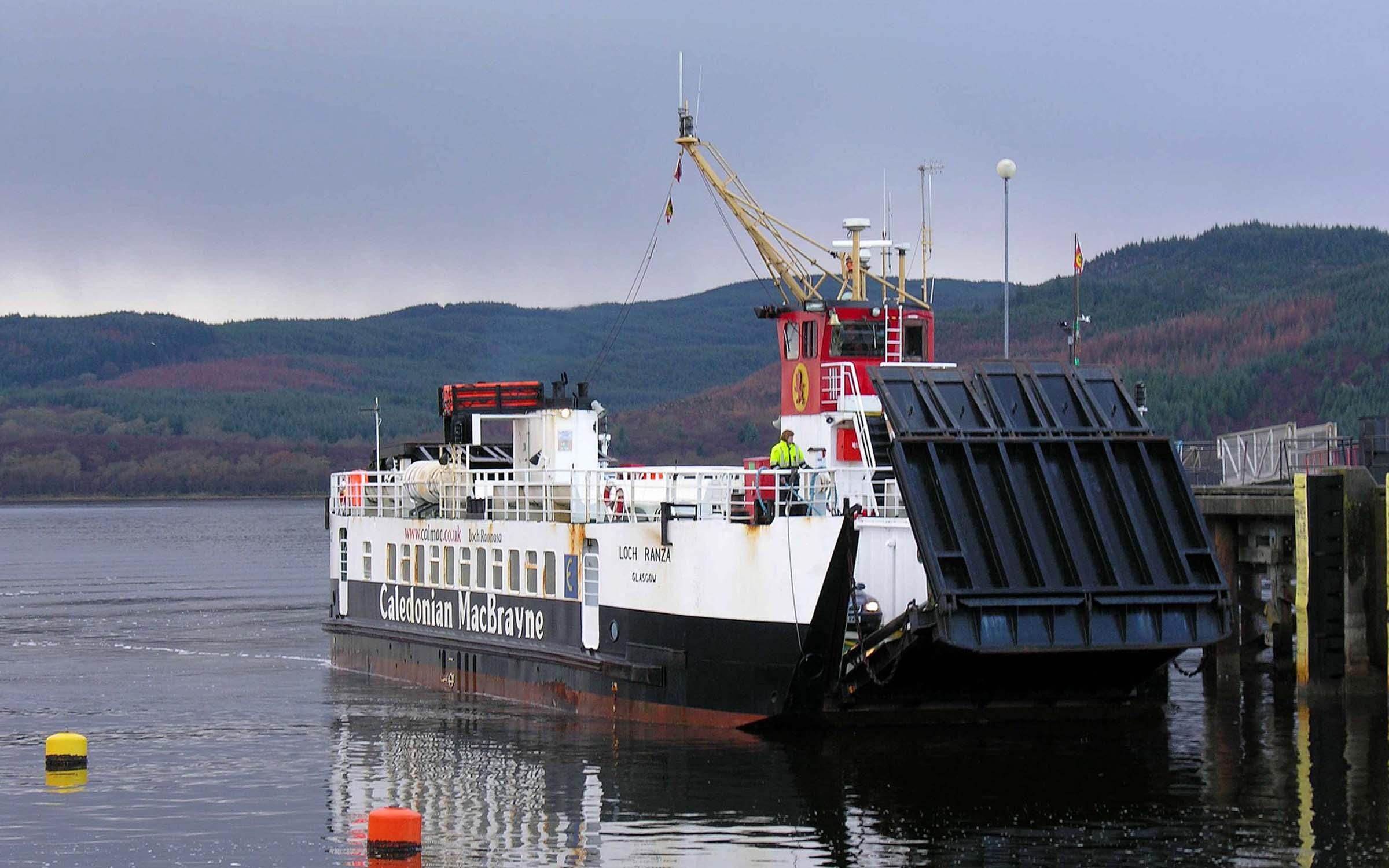 Loch Ranza arriving at Kennacraig (Iain McPherson)