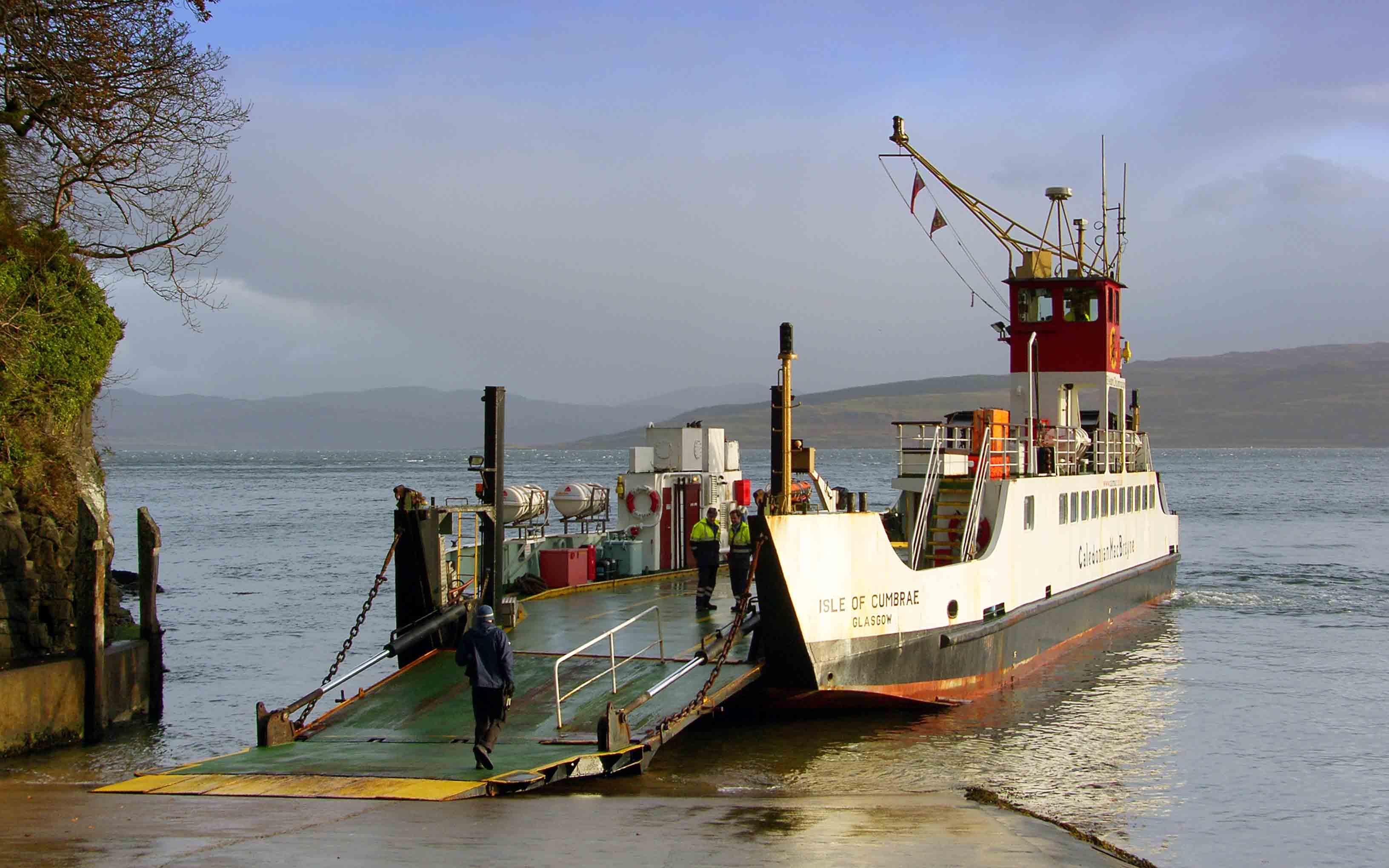 Isle of Cumbrae at Tobermory (Ships of CalMac)