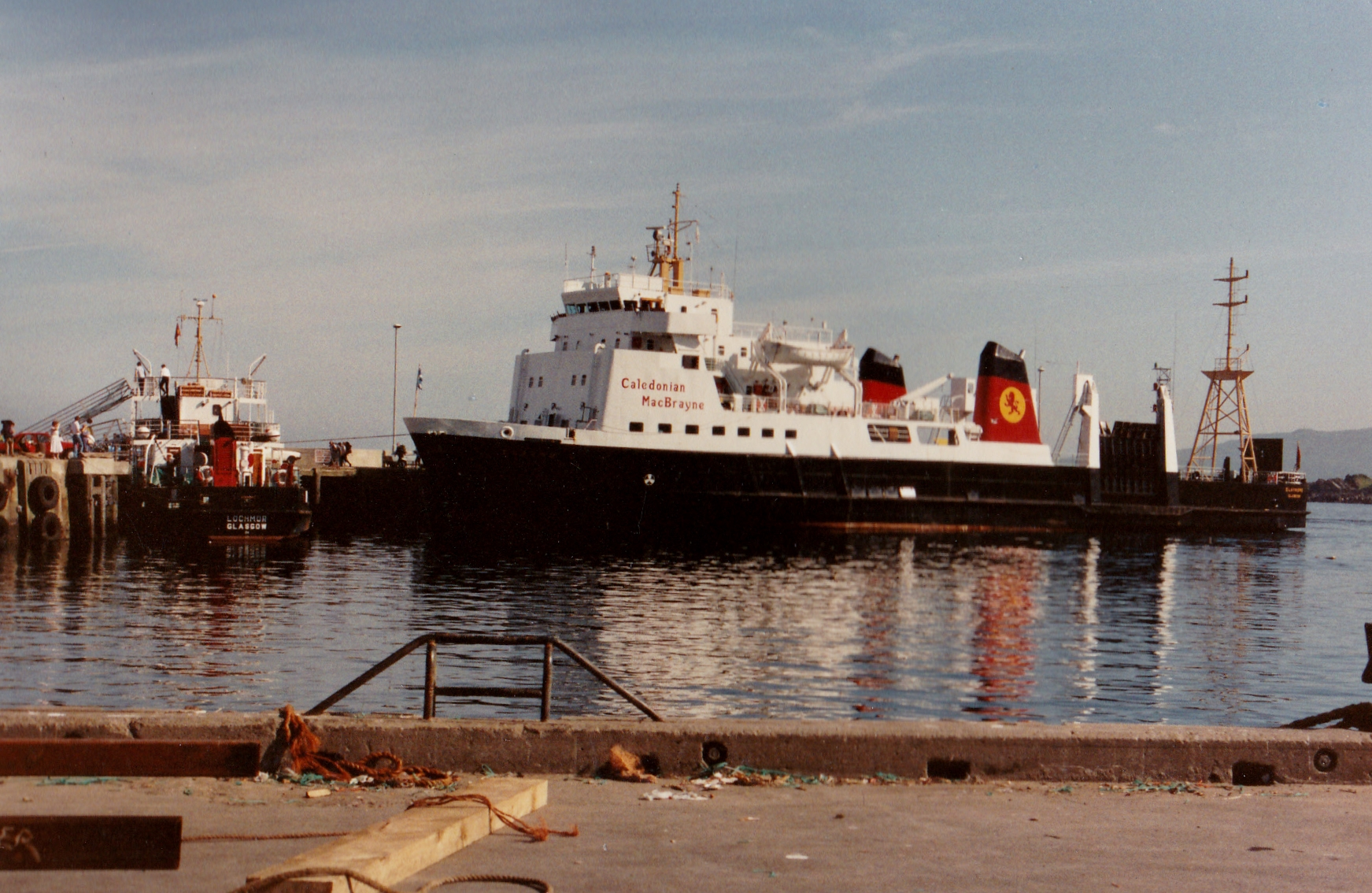 Lochmor at Mallaig with Claymore (Jim Aikman Smith)