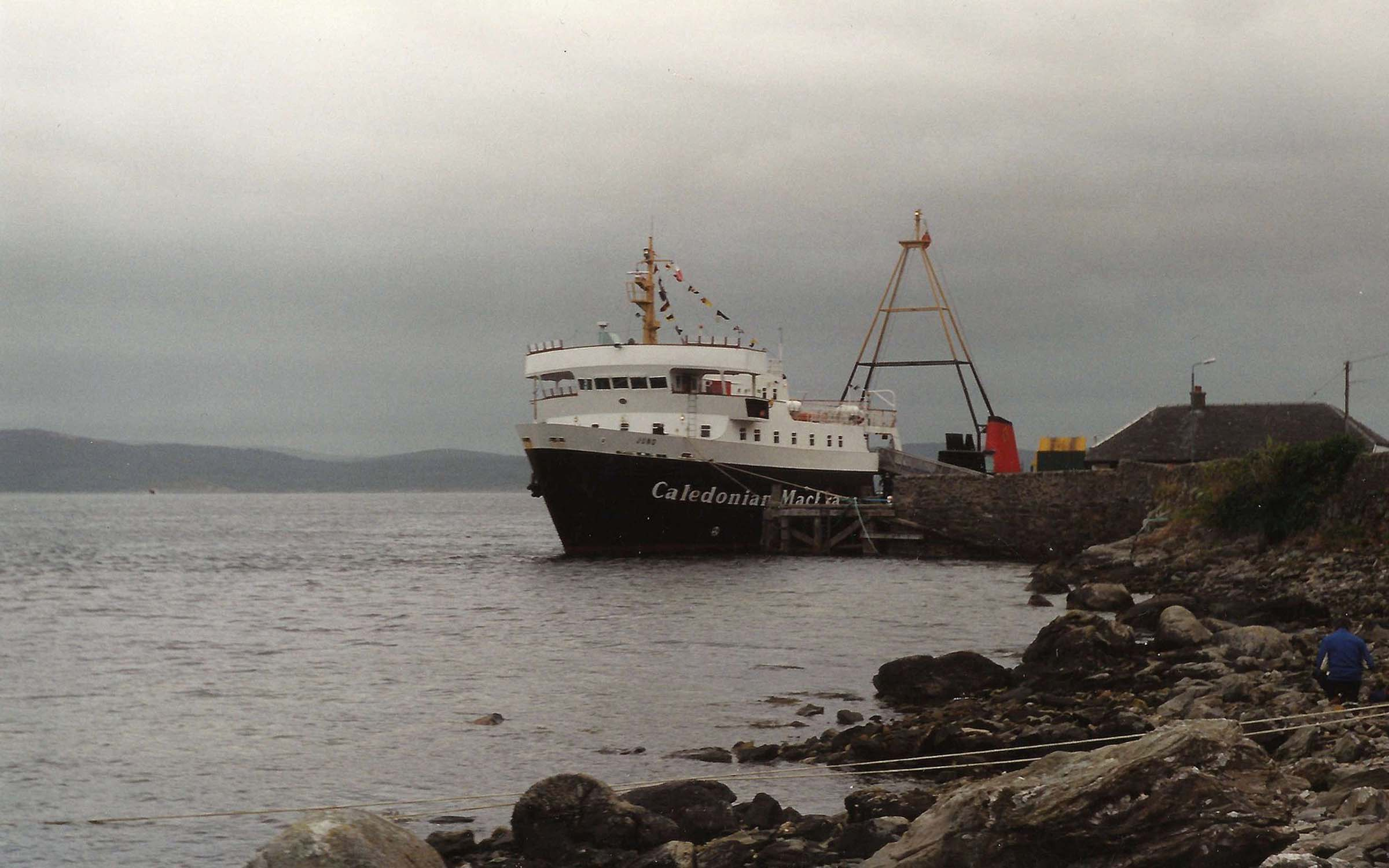Juno at Tarbert on a Clyde Cruise (Iain McPherson)
