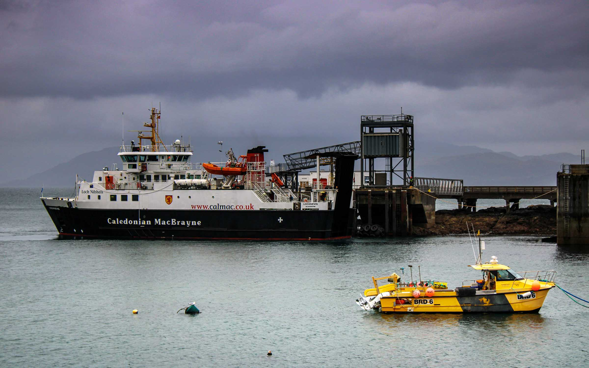 Lochnevis at Armadale (Ships of CalMac)