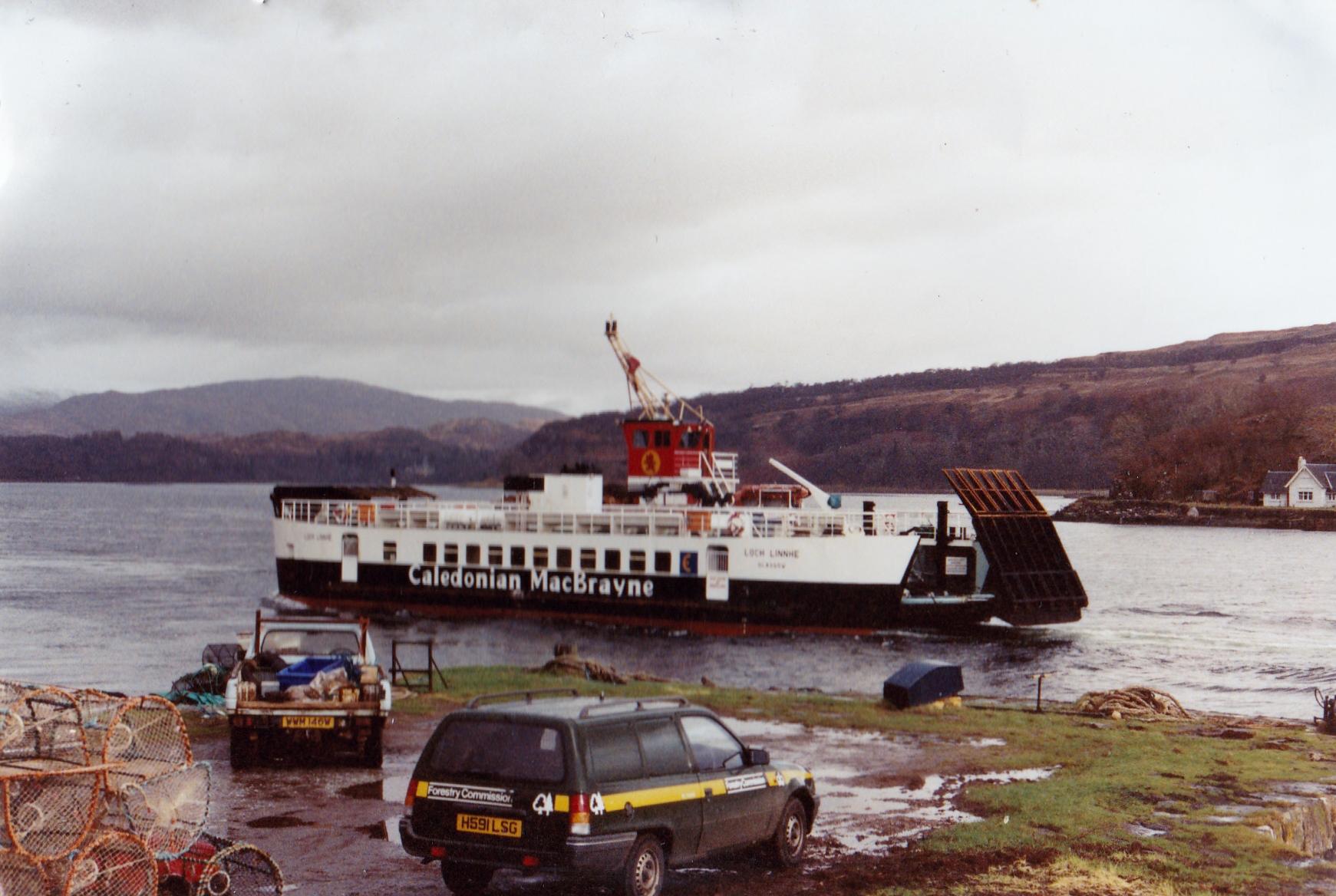 Loch Linnhe arriving at Lochaline (Jim Aikman Smith)