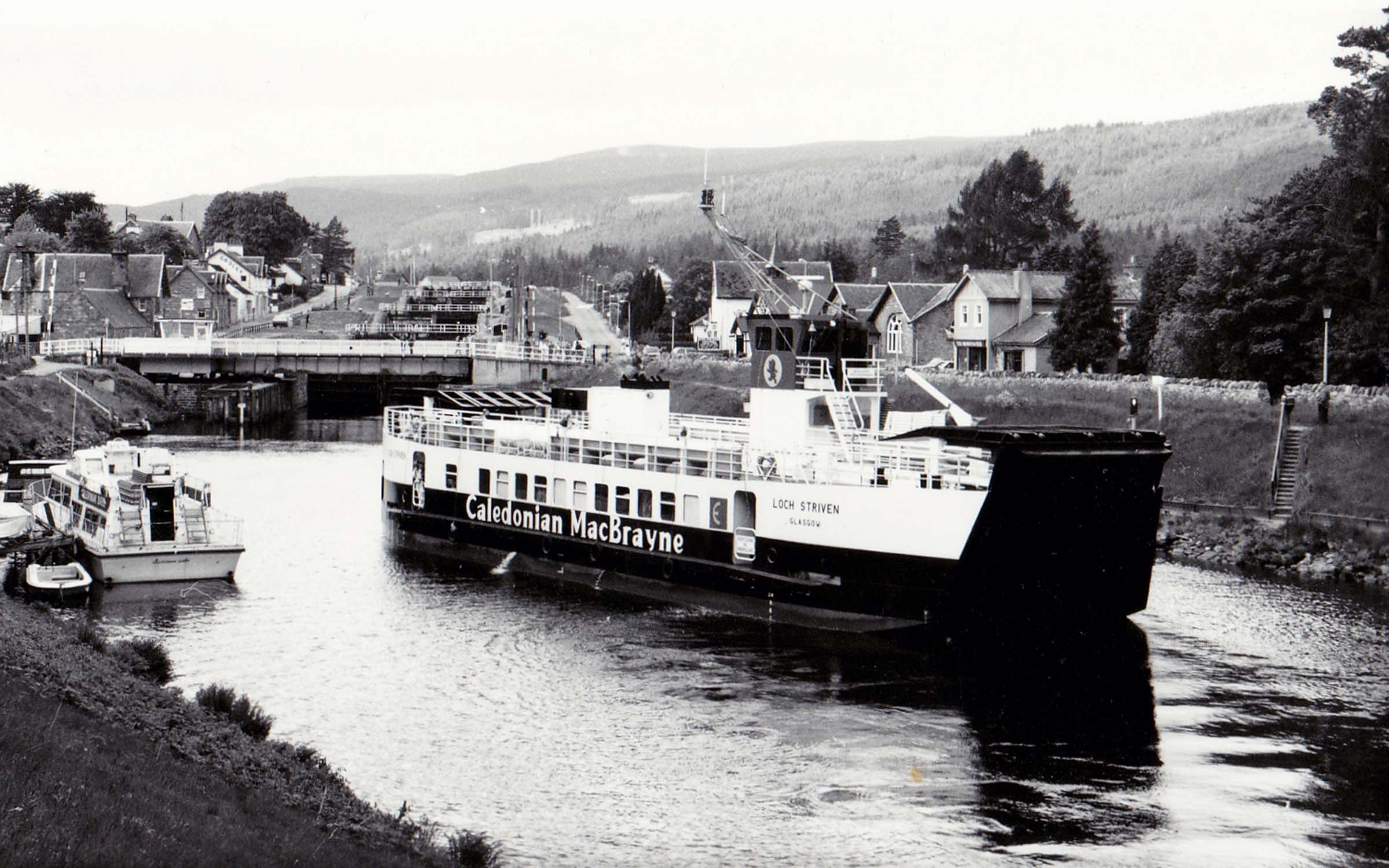 Loch Striven passing through Fort Augustus (Jim Aikman Smith)
