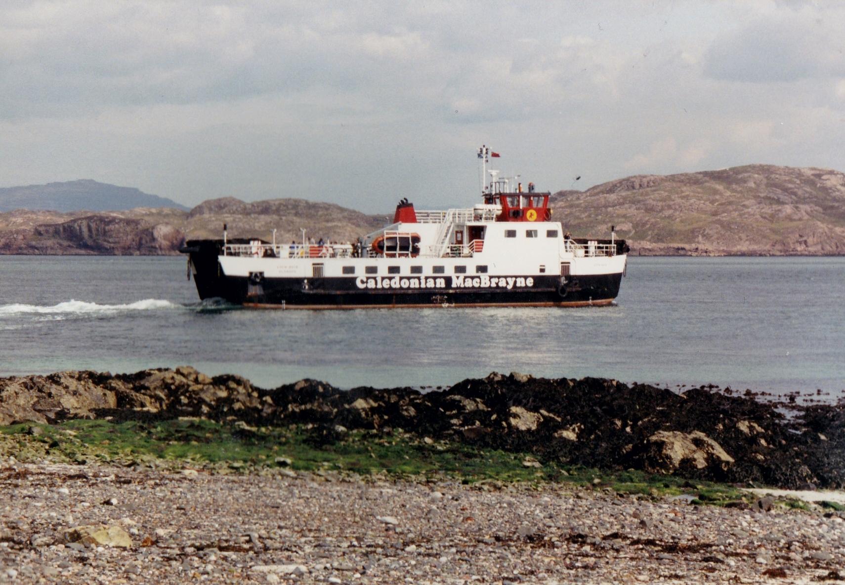 Loch Buie leaving Iona (Jim Aikman Smith)