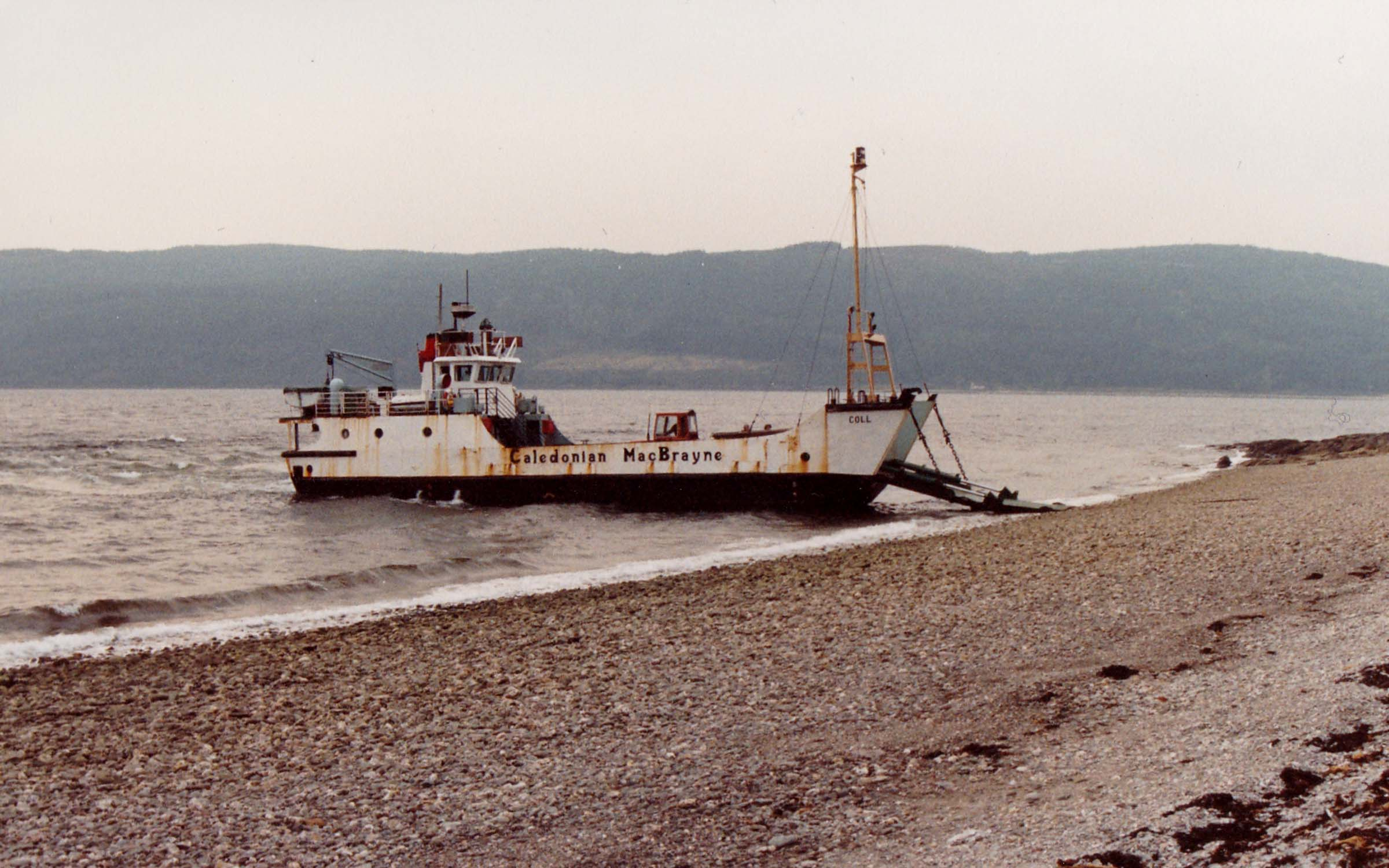 Coll on a charter to Kilmichael, Bute (Jim Aikman Smith)