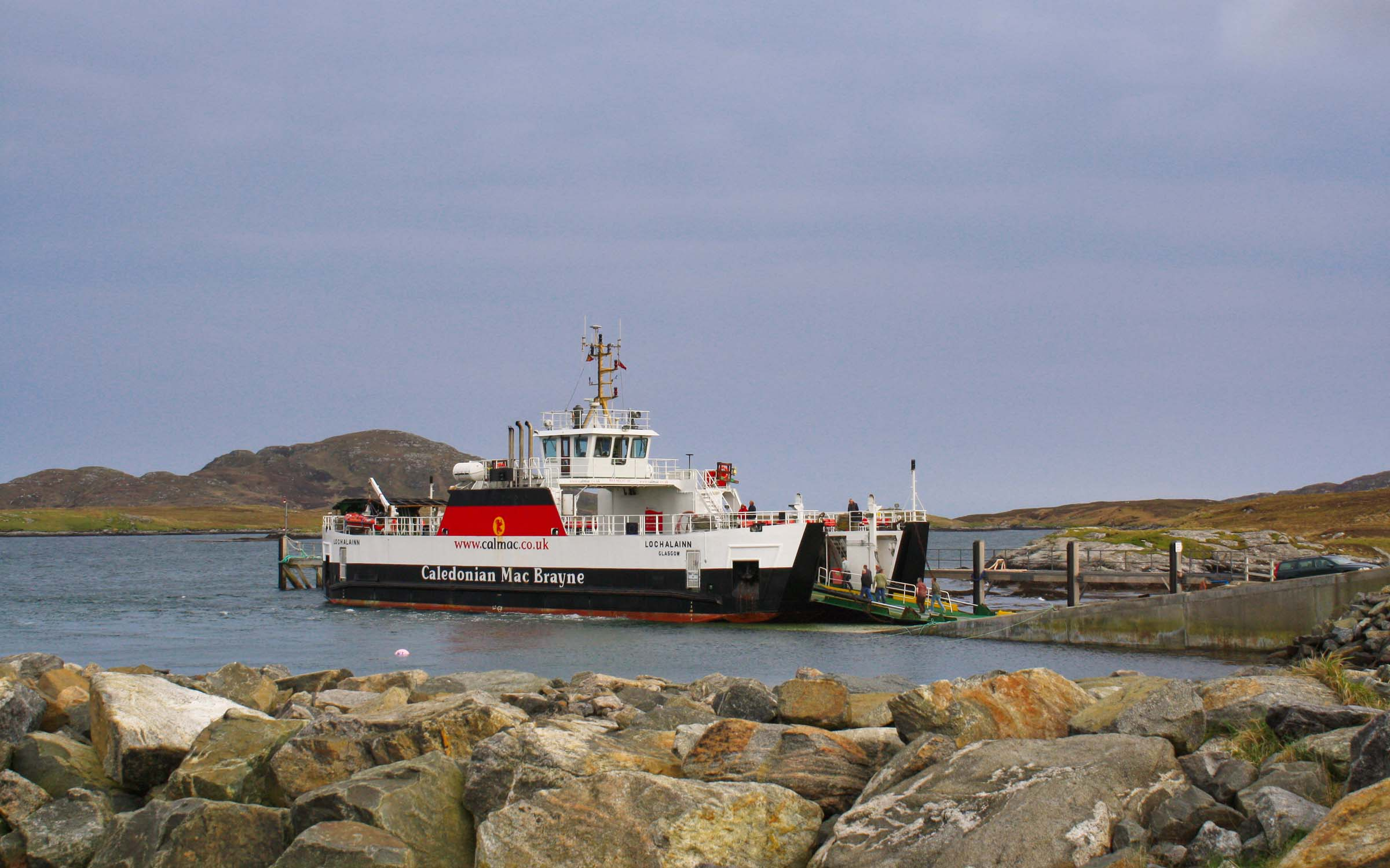 Loch Alainn at Ardmhor, Barra (Ships of CalMac)