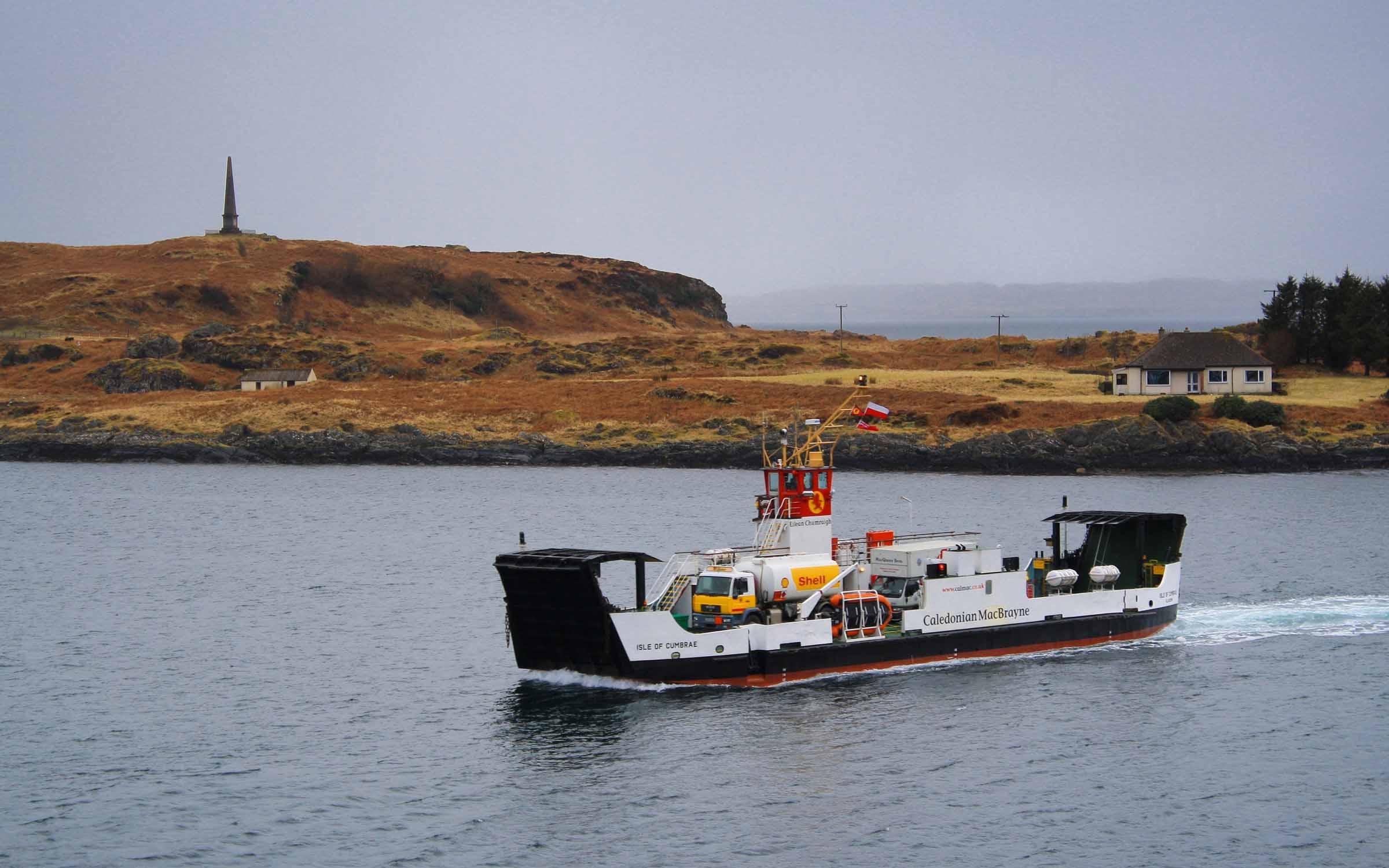 Isle of Cumbrae in Oban Bay (Ships of CalMac)