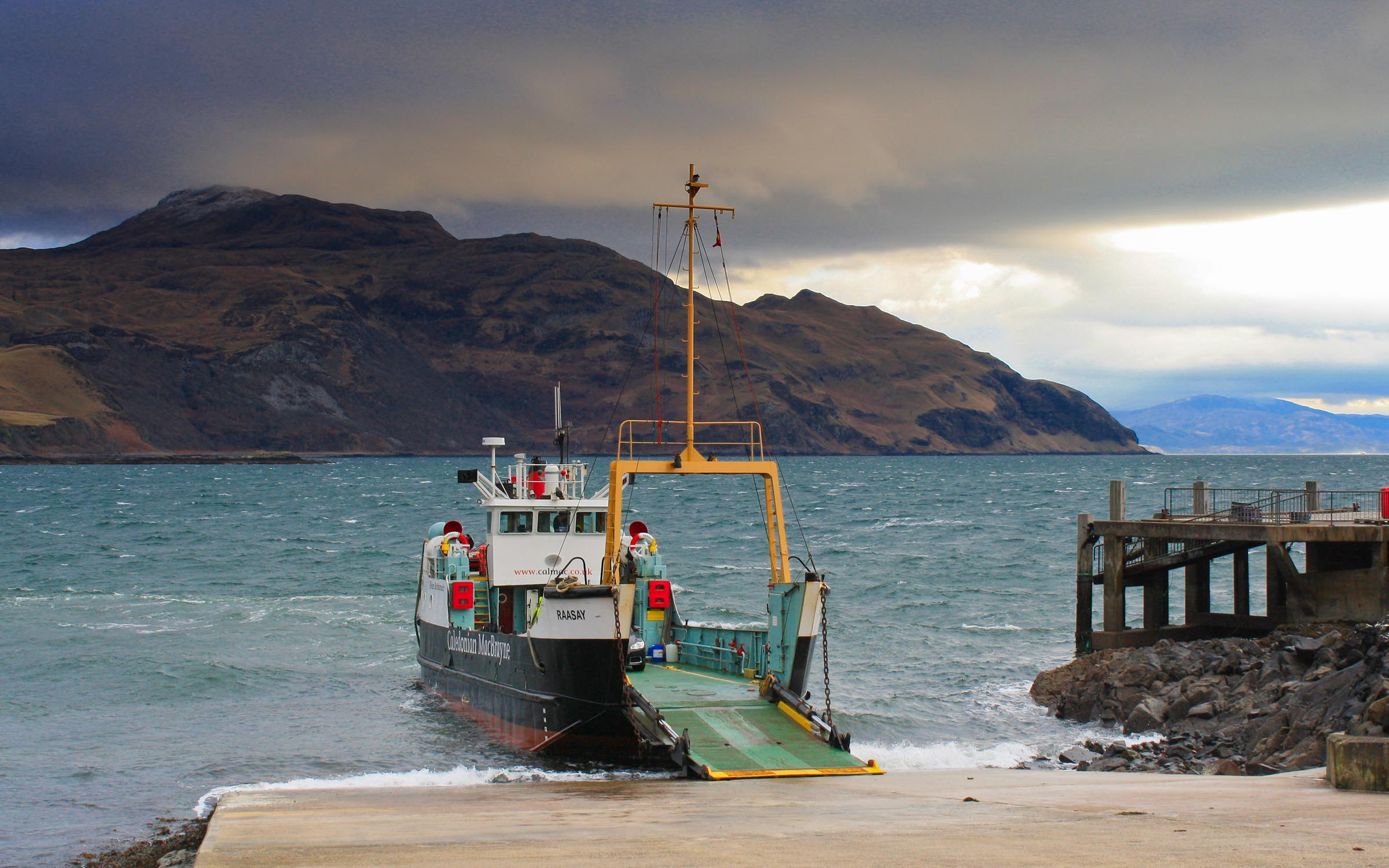 Raasay at Kilchoan (Ships of CalMac)