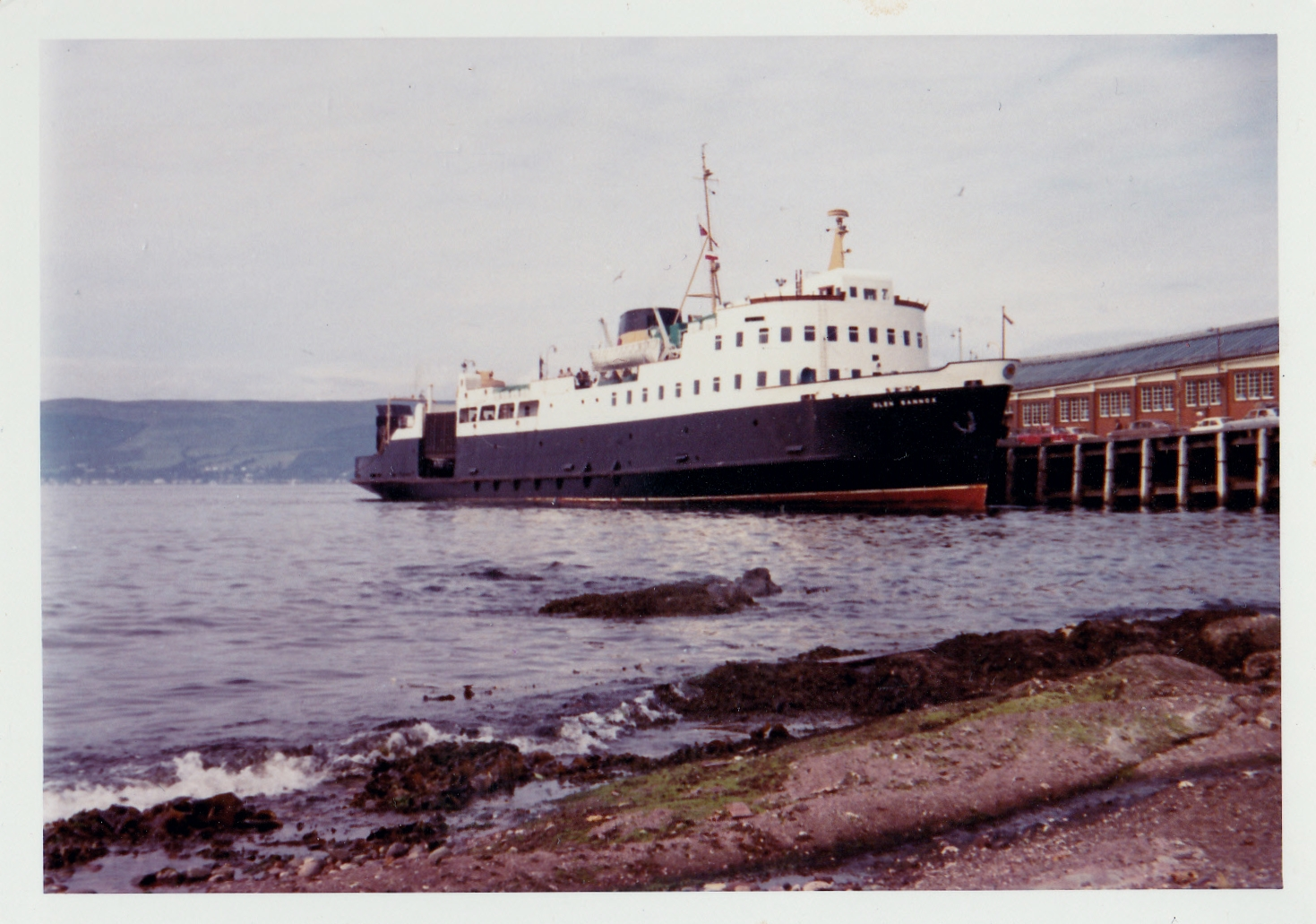 Glen Sannox at Wemyss Bay (Jim Aikman Smith)