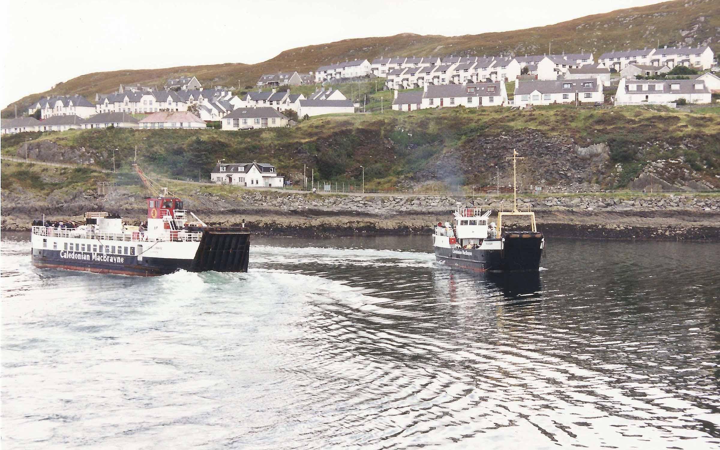 Loch Linnhe and Raasay at Mallaig (Iain McPherson)