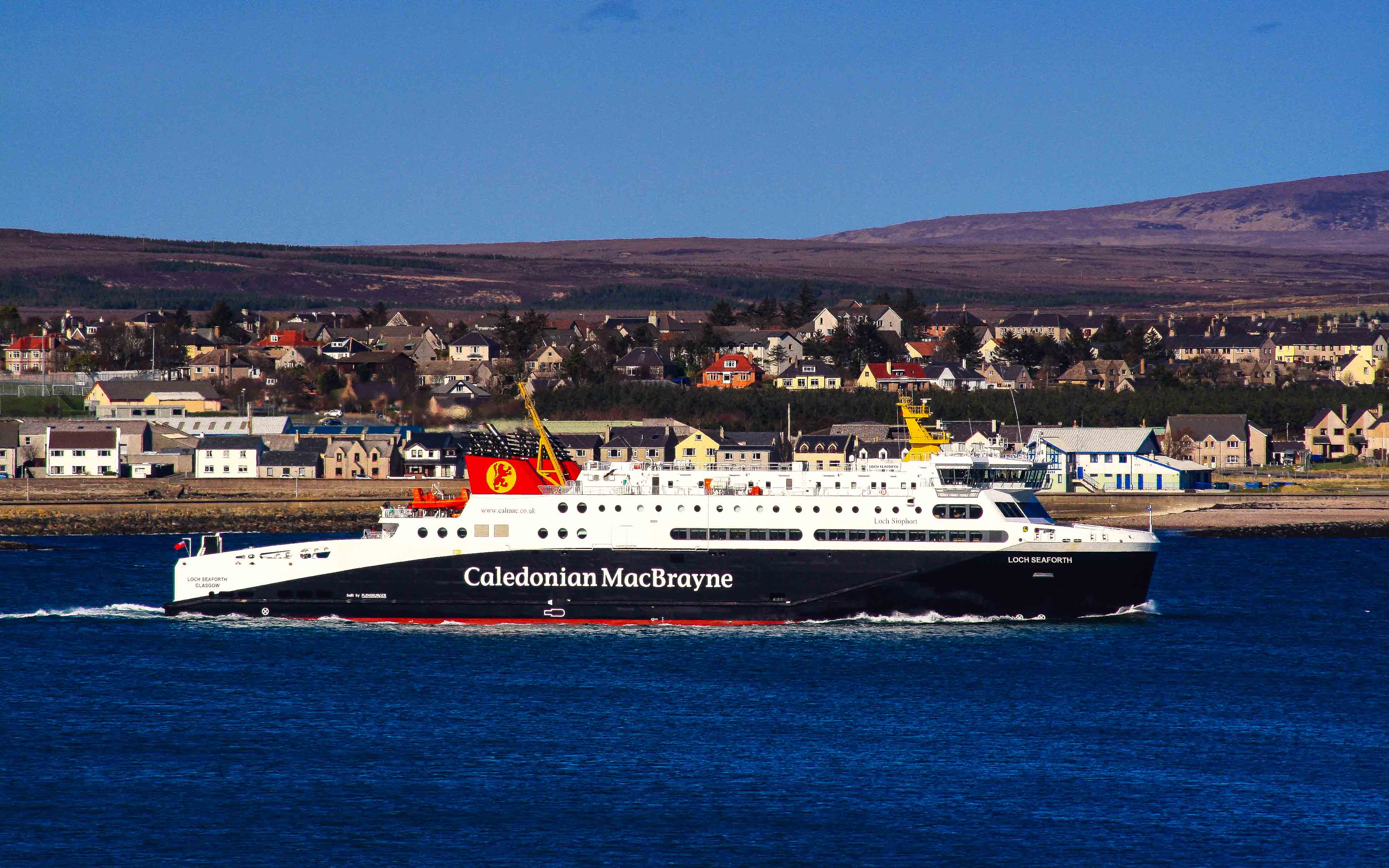 Loch Seaforth leaving Stornoway harbour (Photo: SoC Crew)