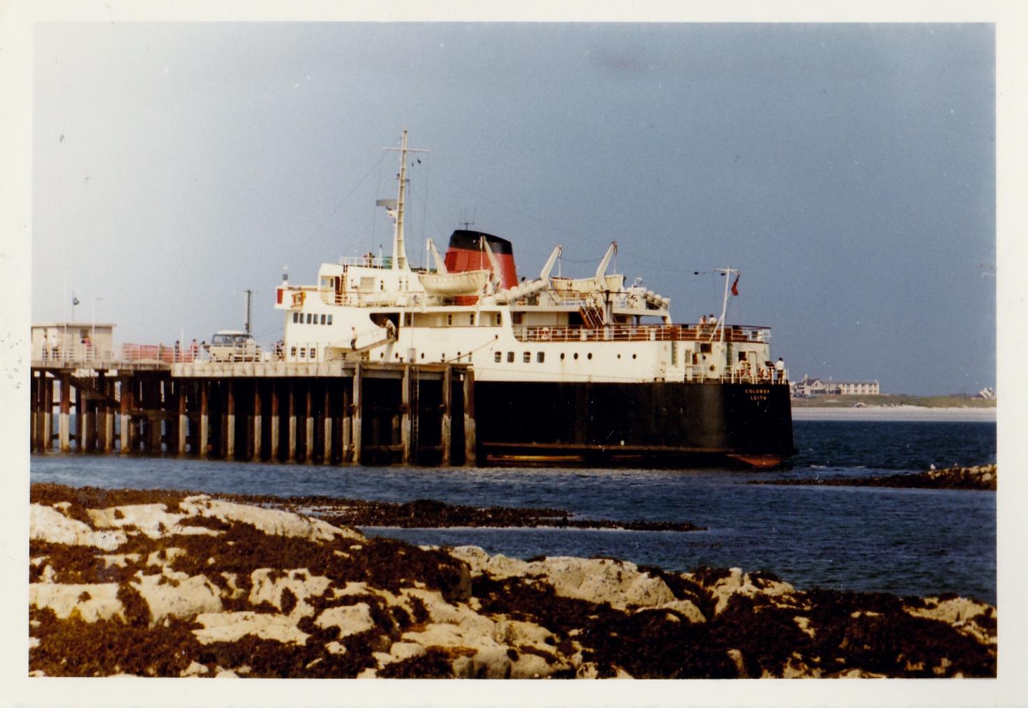 Columba at Tiree (Jim Aikman Smith)
