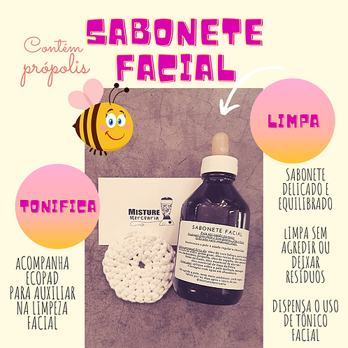 Sabonete Facial Líquido 100 ml