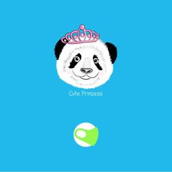 panda design for face mask