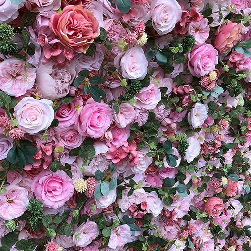 pink flowerwall pink flower wall bright flowerwall bright flower wall