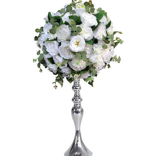 Flower Balls, Centrepieces, Wedding Flowers, Table Decor, Silk Flower Arrangement, Foliage Wedding, Venue Dressing, Luxury