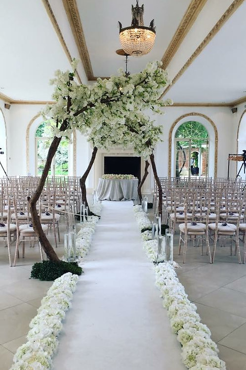 flower runners, floral runner, wedding staircase flowers, wedding aisle flowers, flower runners hertfordshire, centrepieces,