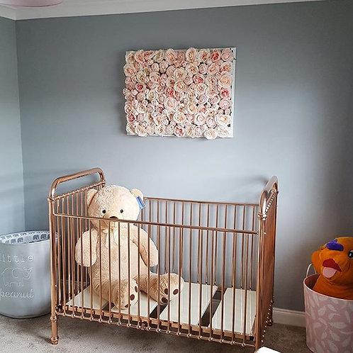 nursery flower wall