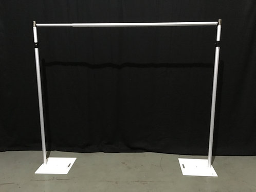 telescopic pole frame, flowerwall frame, flower wall frame, backdrop frame, pipe and drape, flowerwall, flower wall, london