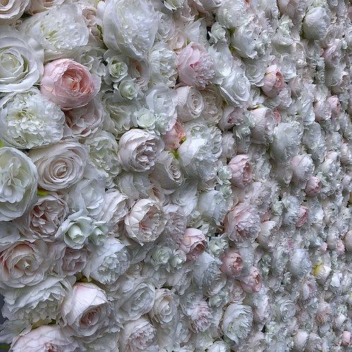 Ivory flower wall, nude flowerwall, hertfordshire flower wall, luxury flower wall, buckinghamshire flower wall