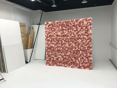 pink blooms flower wall, pink blooms flowerwall, blush flowerwall, nude flower wall, soft pink flowerwall, luxury flower wall