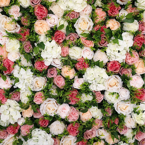 Green FlowerWall, Foliage FlowerWall, Blush FlowerWall, Tropical FlowerWall