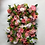 Pink foliage flower wall, natural flowerwall, gordons flower wall, hire flower wall, rental flowerwall, luxury wall, pink