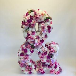 & Floral Letter