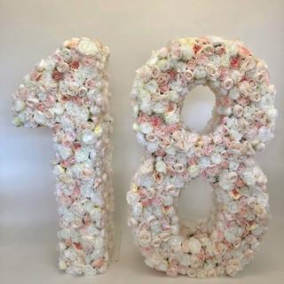Floral Number 18