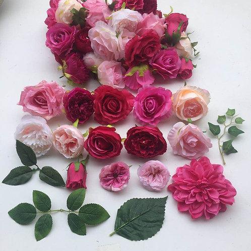 Sasha FlowerHeads & Foliage