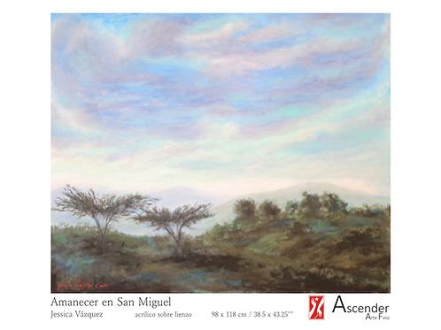 """""""Amanecer en San Miguel"""""""